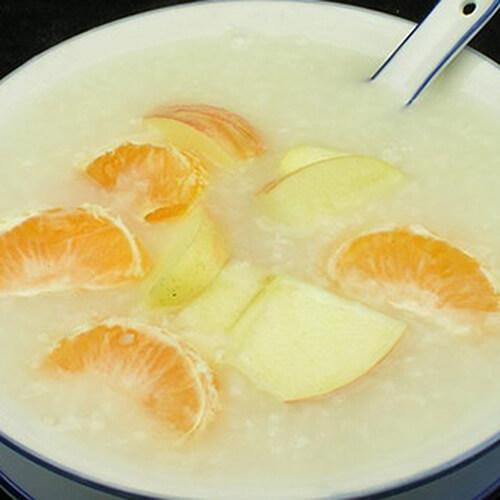 苹果糯米粥