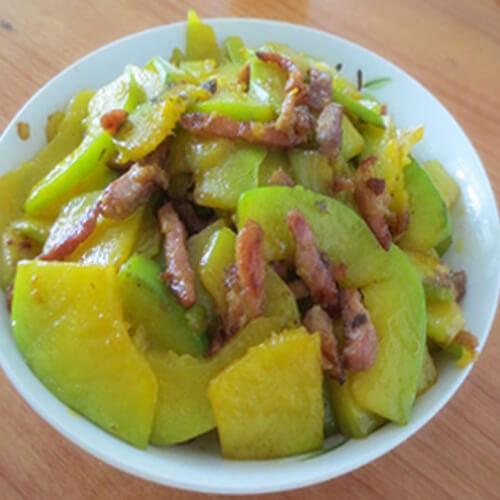 南瓜片炒肉