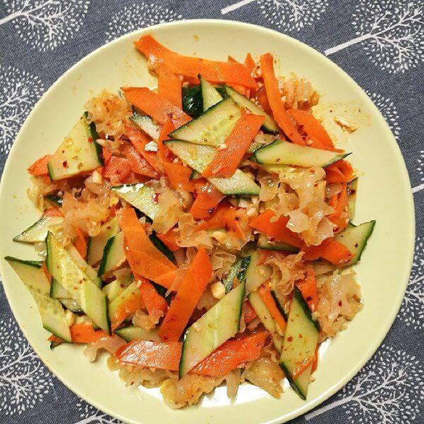 拌黄瓜胡萝卜