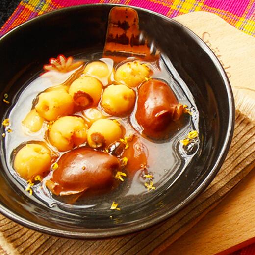 桂花莲子汤