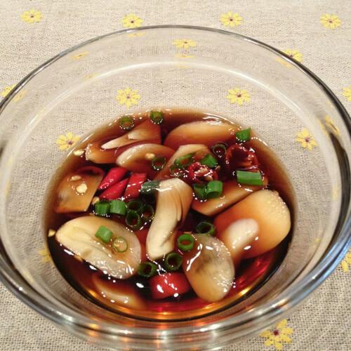 易做的韩式腌山蒜