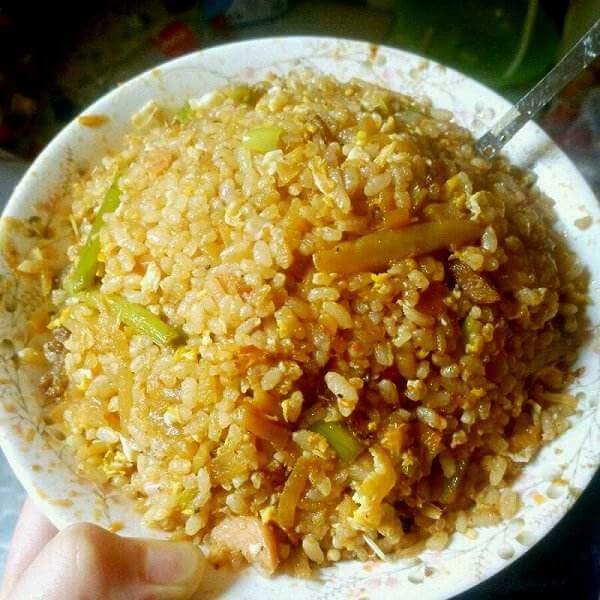 京酱肉丝炒饭