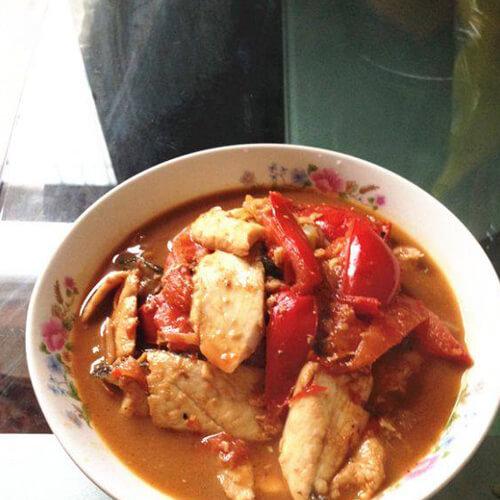 西红柿野生鱼片