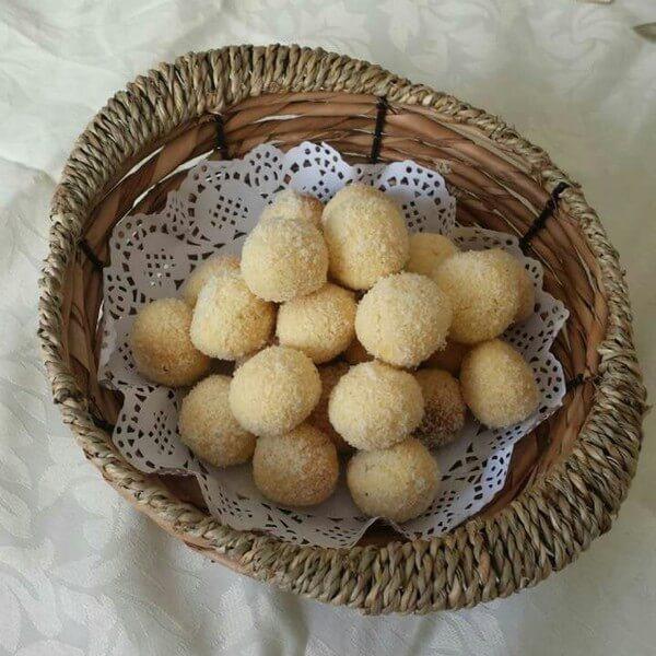酸奶黄金椰蓉球