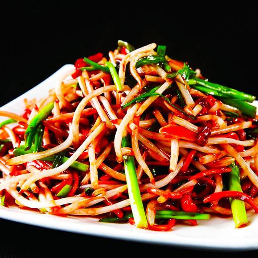 五彩炒合菜