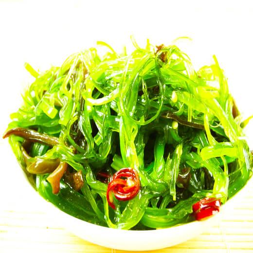 咸肉炒海带丝