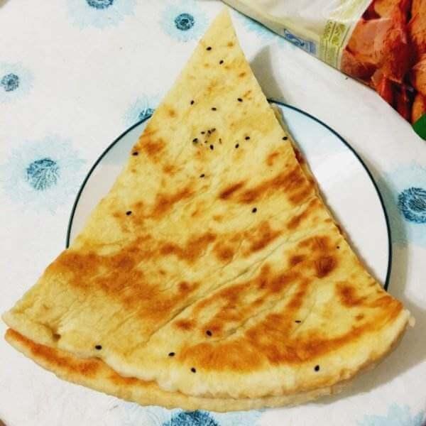 微波菠菜薄厚面饼