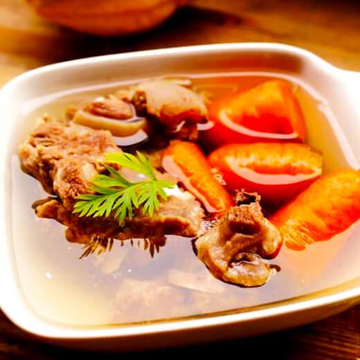 自制清炖羊肉萝卜汤