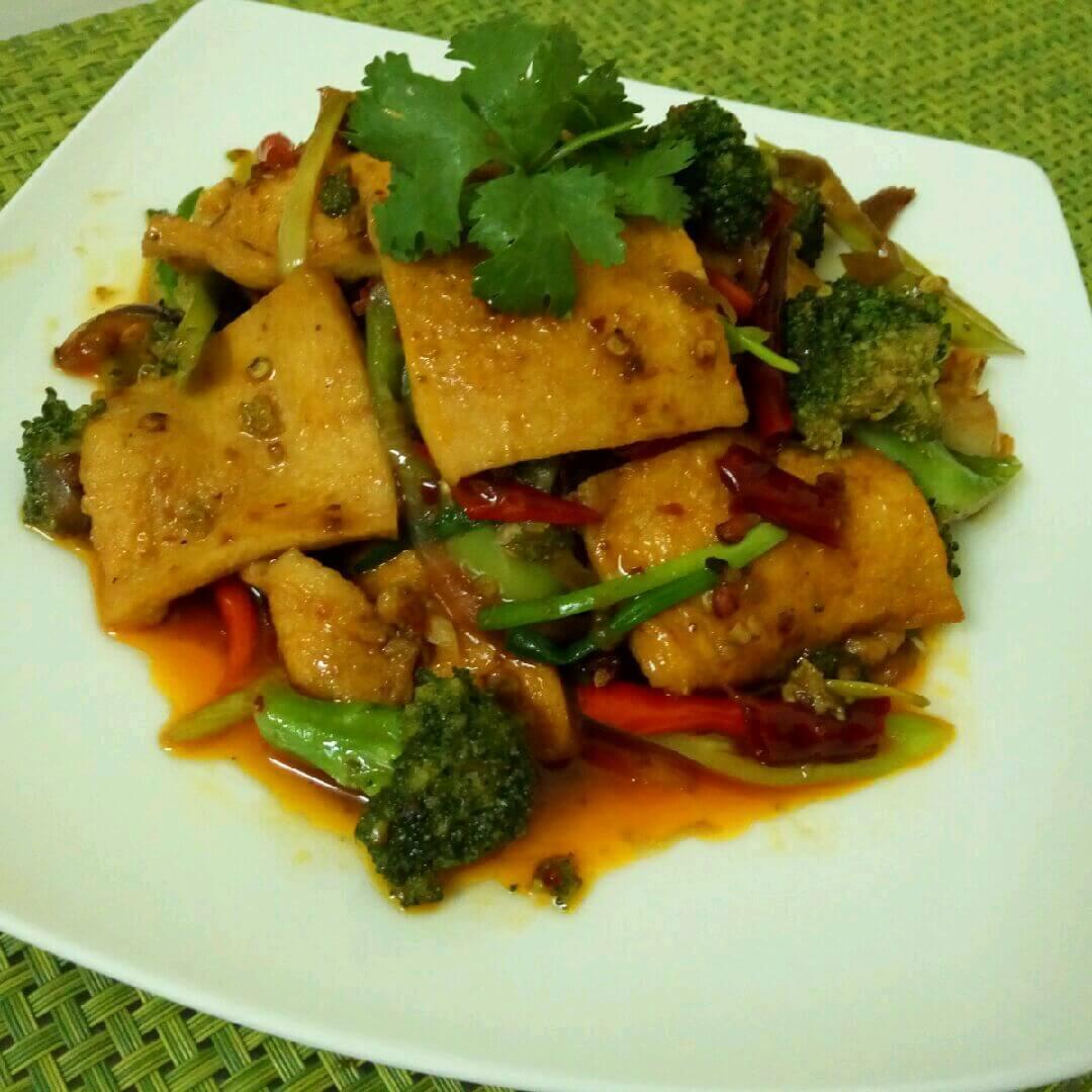 干锅柴火豆腐