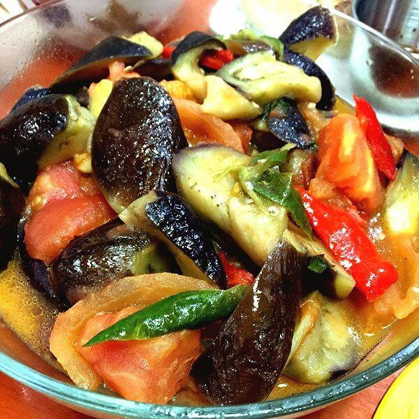 美味茄子泡菜
