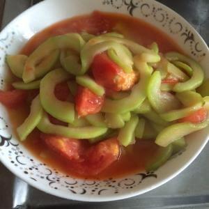 美味的番茄笋干葫芦