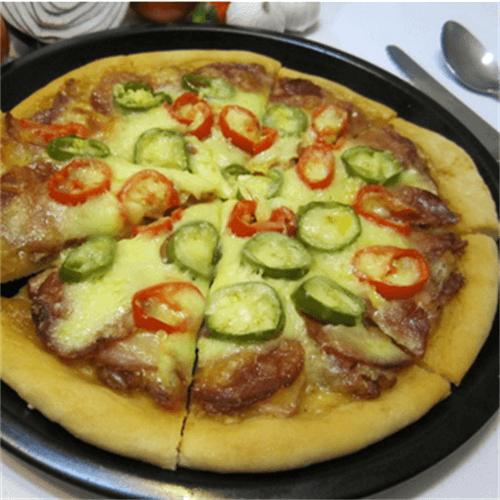 香肠米披萨-懒人版