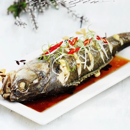 豆瓣苋菜蒸黄鱼