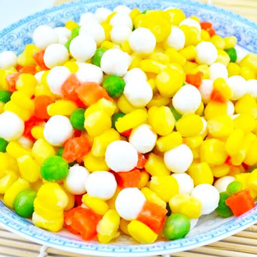 简易版玉米蔬菜粒