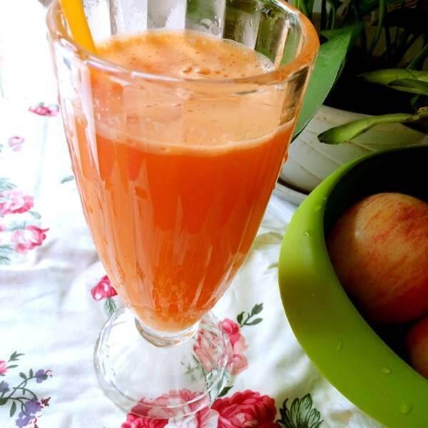 木瓜柠檬胡萝卜苹果汁