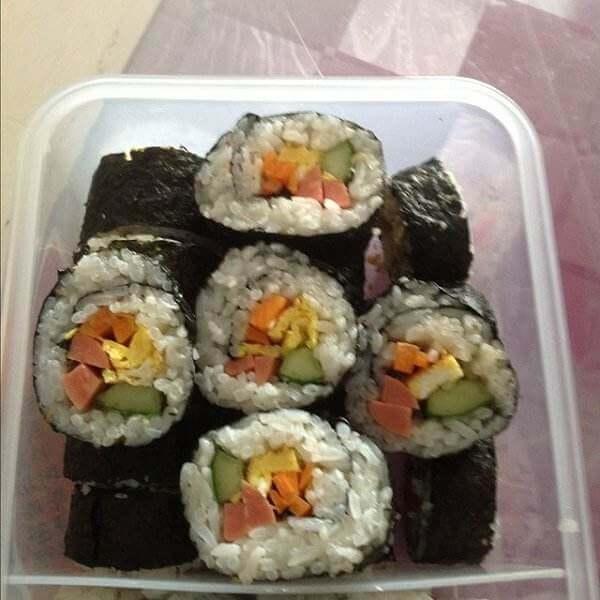 日式寿司卷