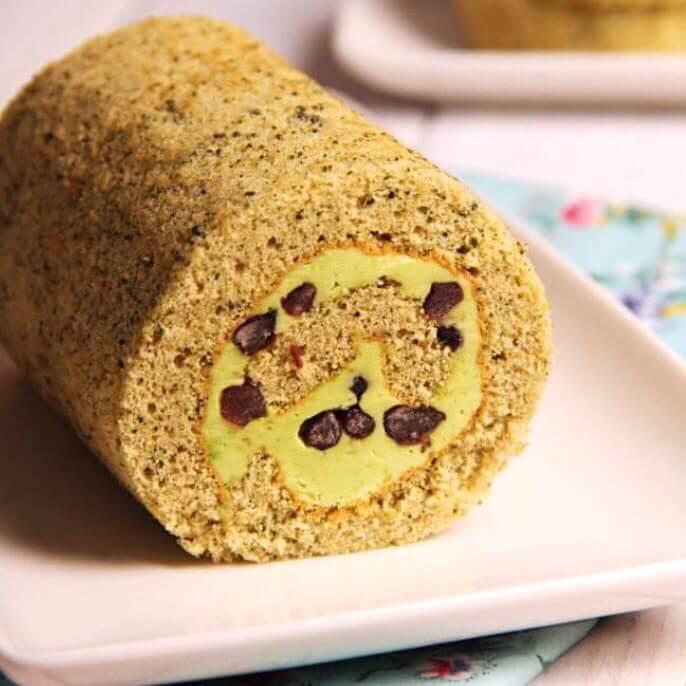 蜜豆海绵面包