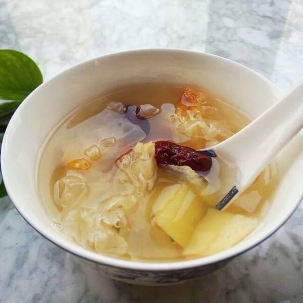 玉米苹果汤