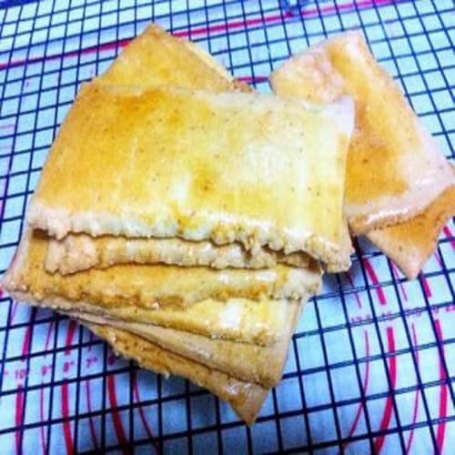 松软可口的绿豆发面饼干
