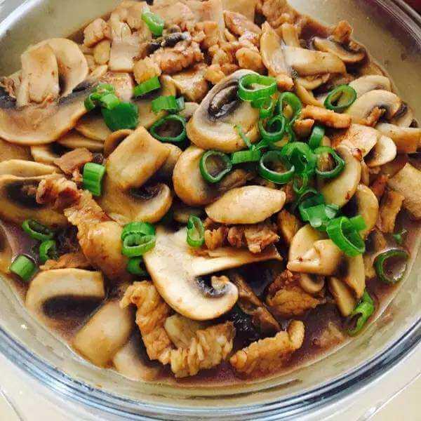 蒸碗之蘑菇