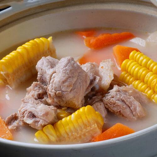 可口玉米扇骨汤