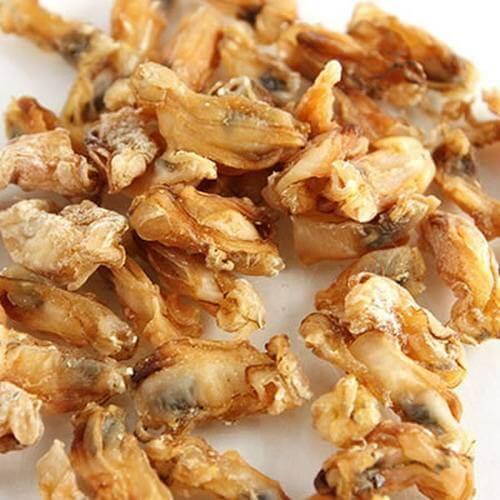 茶树菇炒海蛎