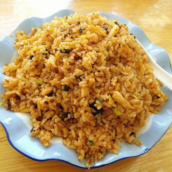 自制意式青酱炒饭