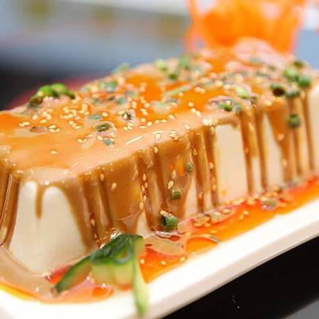 懒人版-淋汁豆腐肉夹