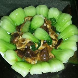 虾仁趴油菜