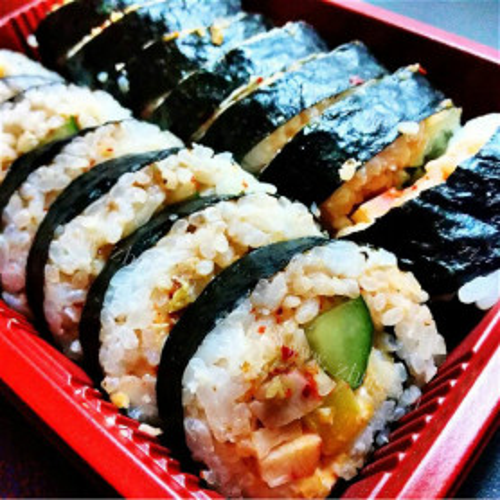 韩国泡菜寿司