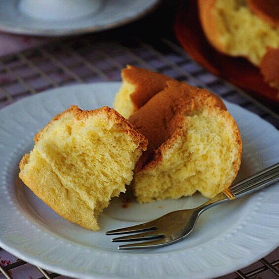 烤盘版戚风蛋糕
