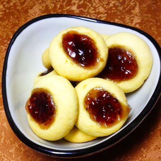 蓝莓果酱小西饼