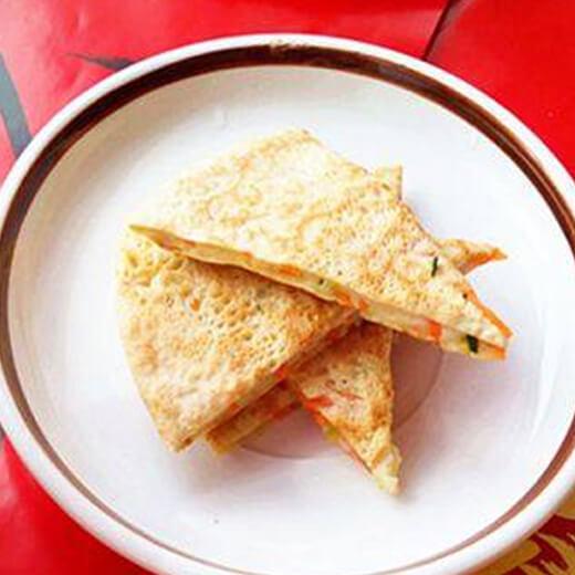 黄瓜杂粮煎饼