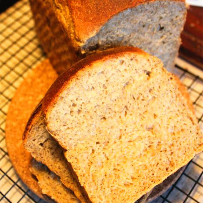 香甜法国黑麦面包