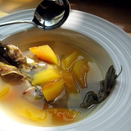 黑鱼炖木瓜