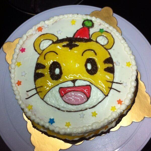 巧虎卡通蛋糕