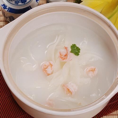 木耳菜虾仁汤