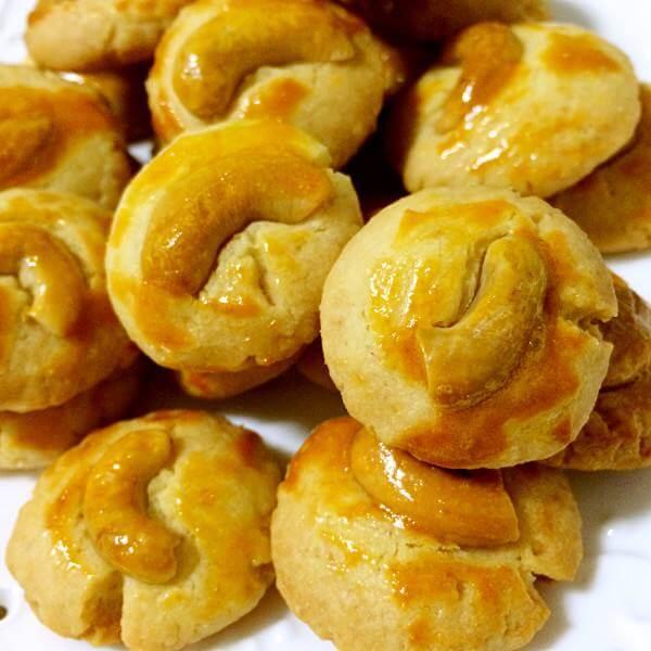 蛋白腰果脆饼