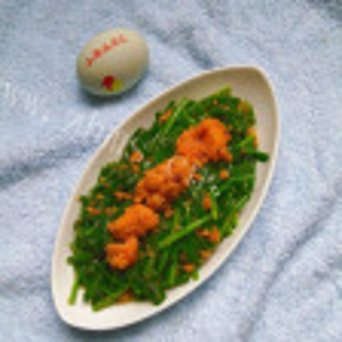 鱼籽炒韭菜