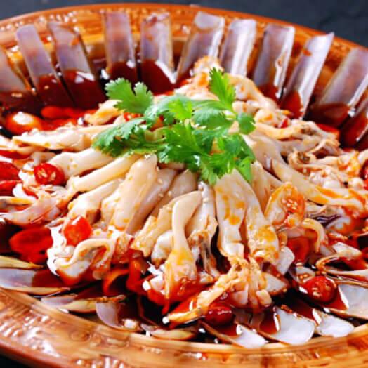 家常水煮海鲜肉片