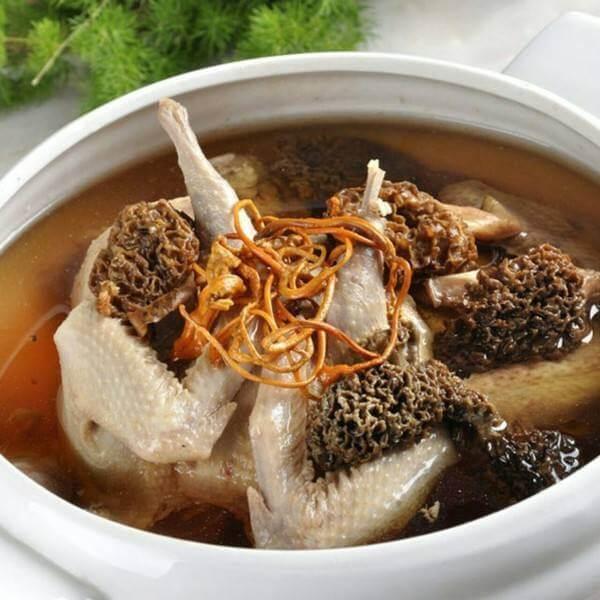 冻豆腐炖乳鸽