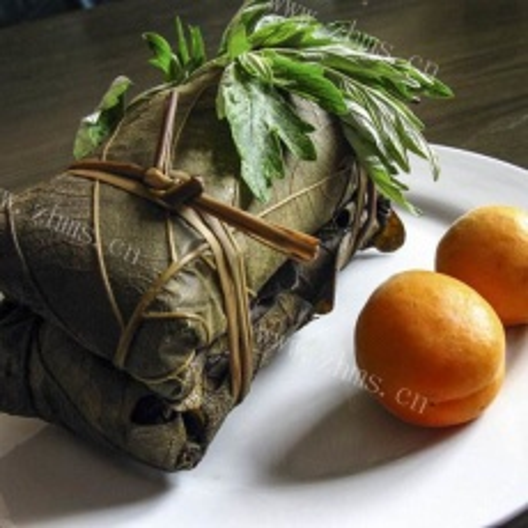 好吃的菠萝叶粽子