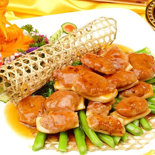 橄榄油香煎杏鲍菇
