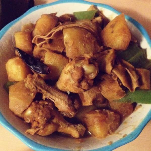 煎土豆鸡翅