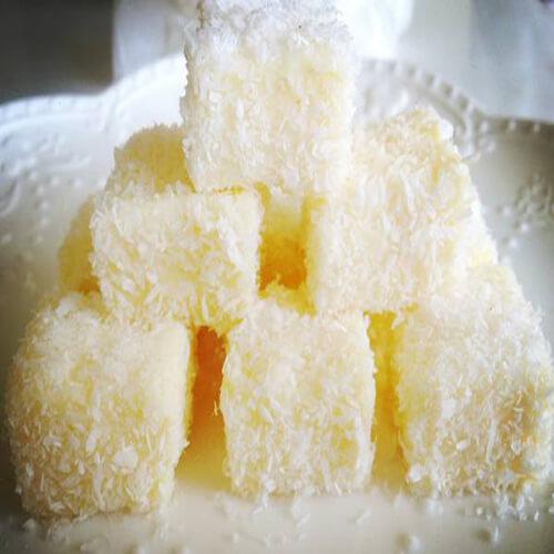 牛奶椰方块
