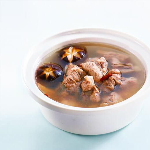 小米虾三鲜汤
