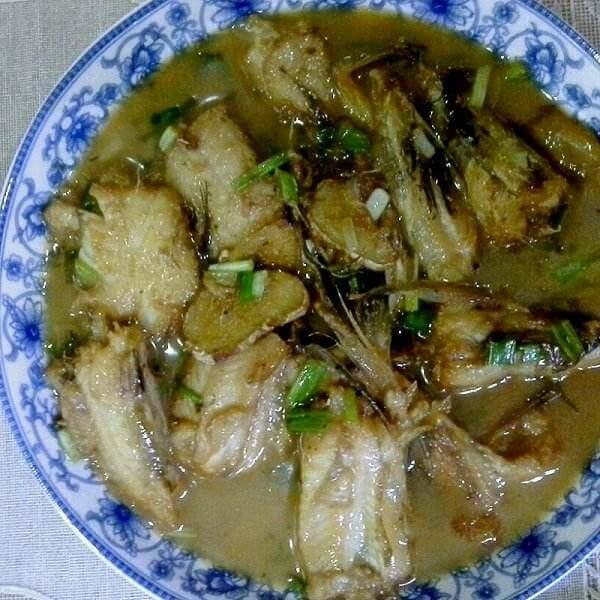 牡蛎煮虾潺