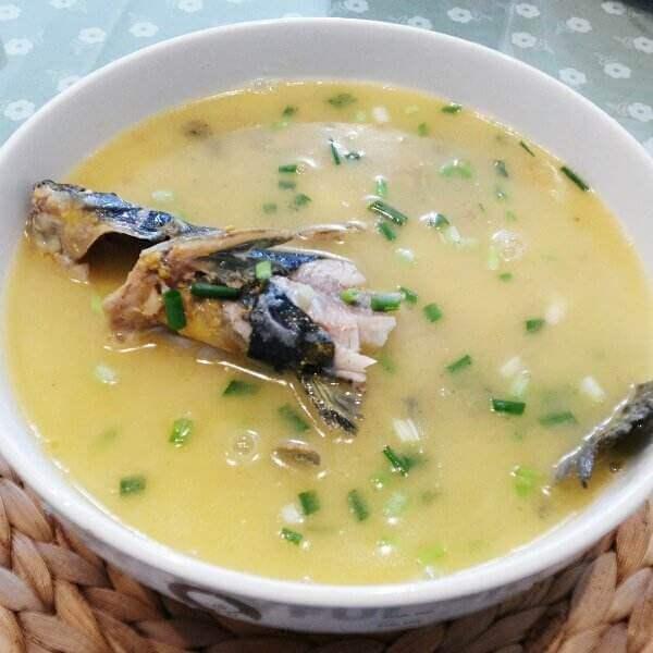 南瓜鲔鱼汤