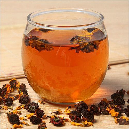 雪菊枸杞茶