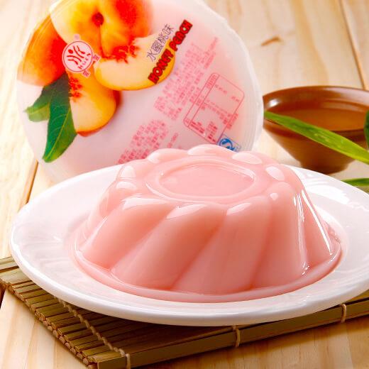 水蜜桃蛋奶布丁